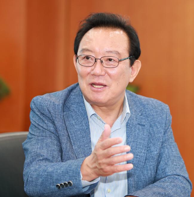 Ulsan Mayor Song Cheol-ho (Ulsan city)