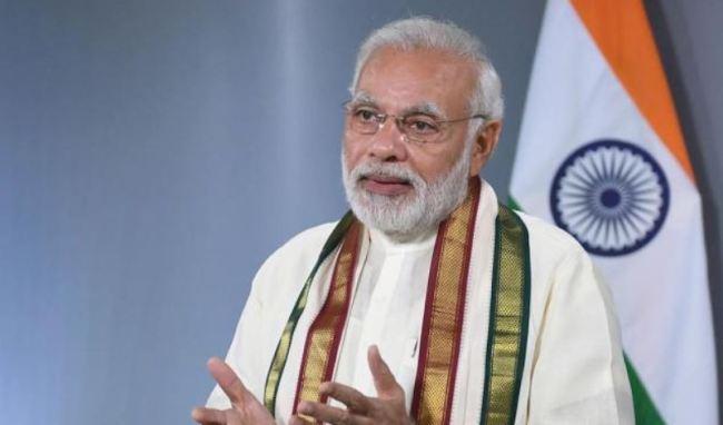 Indian Prime Minister Narendra Modi (Seoul Peace Price Cultural Foundation)