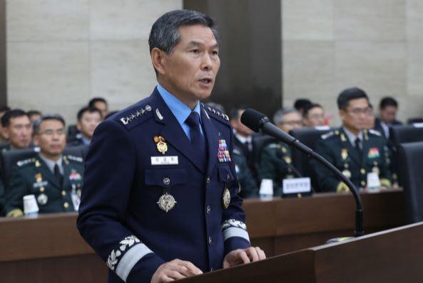 South Korean Defense Minister Chung Kyung-doo (Yonhap)