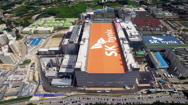 SK hynix's manufacturing site in Icheon, Gyeonggi Province (SK Hynix)