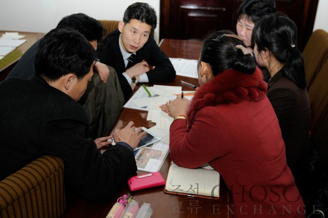 Participants to Choson Exchange's enterpreneurship workshop(Choson Exchange)