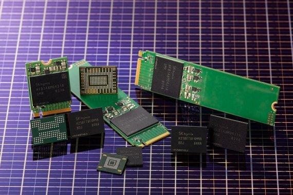 SK Hynix's 96-layer 512-gigabit NAND flash (SK hynix)