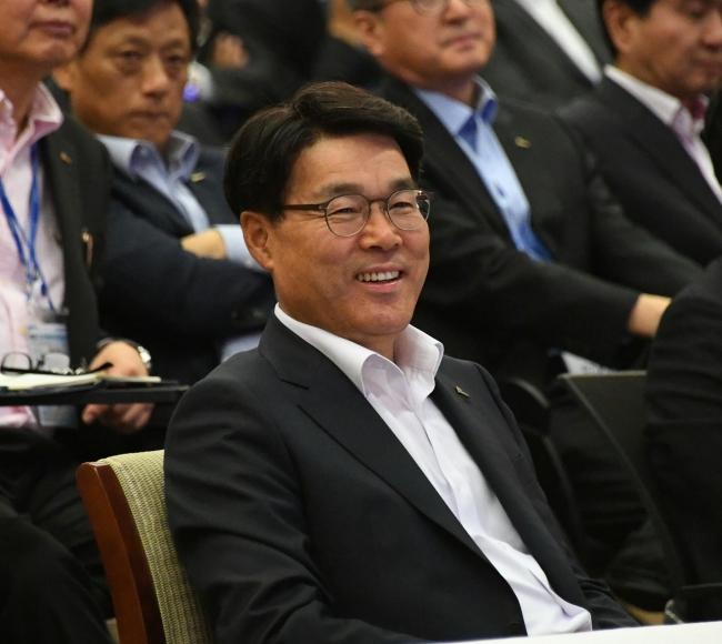 Posco Chairman Choi Jeong-woo (Posco)