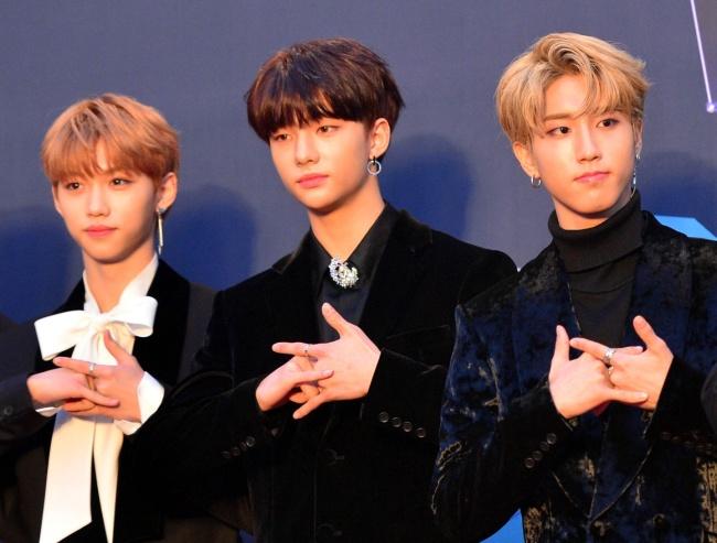 Stray Kids. (Park Hyun-koo/The Korea Herald)