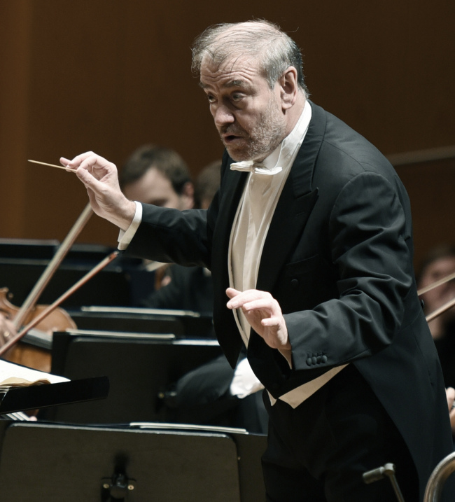 Valery Gergiev, music director of Munich Philharmonic (Sejong Center)
