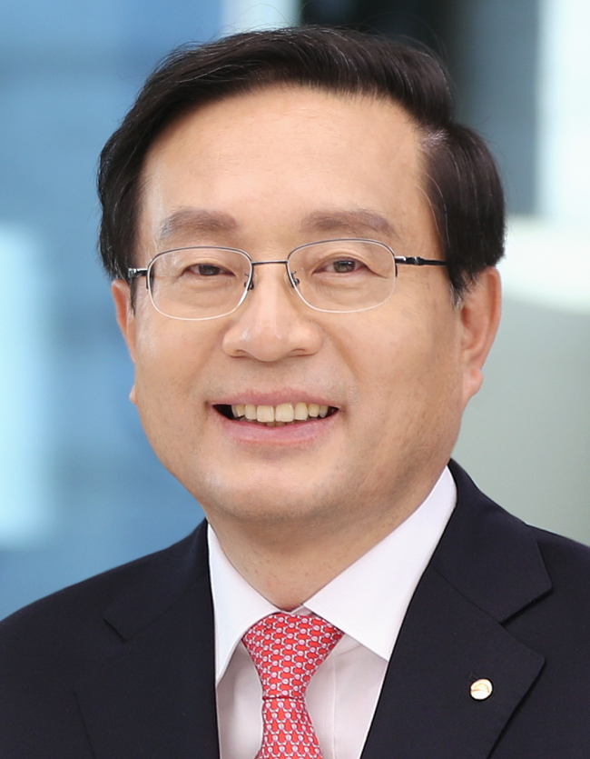 Woori Bank CEO and new Chairman of Woori banking group Sohn Tae-seung. (Woori Bank)