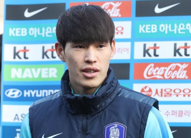 South Korea national football team midfielder Lee Chang-min (Yonhap)