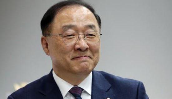 (Finance Minister nominee Hong Nam-ki / Yonhap)