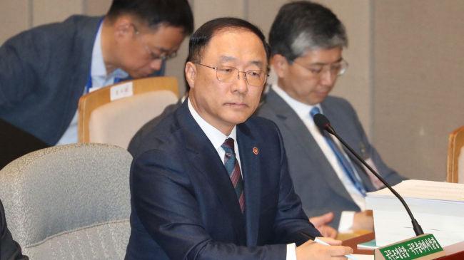 Hong Nam-ki, Finance Minister nominee (Yonhap)