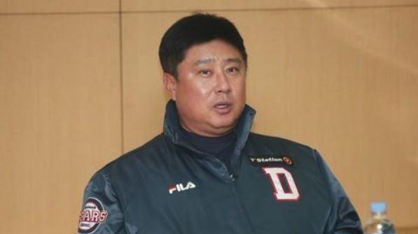 Doosan manager Kim Tae-hyung(Yonhap)