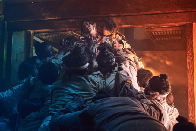 "A still image of the upcoming Netflix original series ""Kingdom."" (Netflix)"