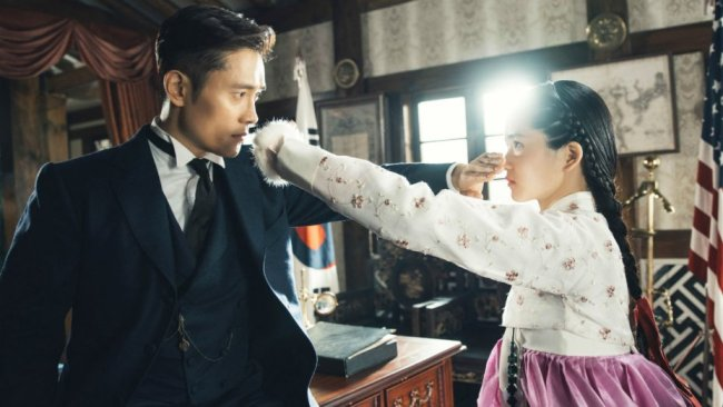 """An official image of the high-budget hit TV series """"Mr. Sunshine."""" (tvN)"""