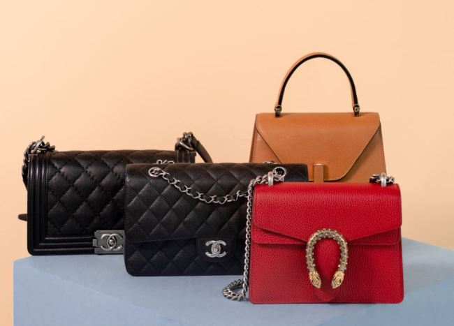 Series Eight's catalogue of designer handbags available for rent (Series Eight)