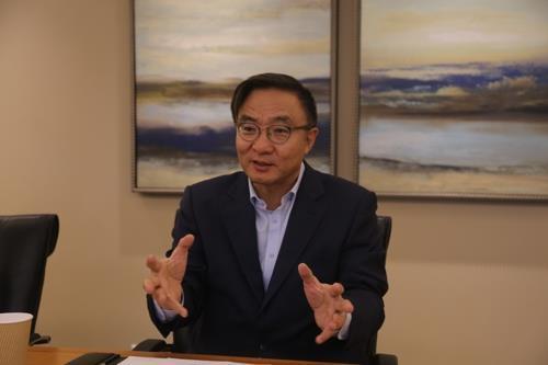 Samsung Electronics President Kim Young-ky (Yonhap)