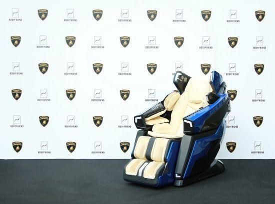 Bodyfriend's Lamborghini-themed massage chair LBF-750 (Bodyfriend)