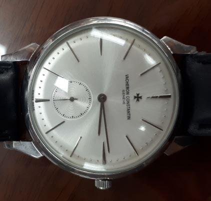 Financial Services Commission chairman Choi Jong-ku's fake high-end watch. (Yonhap)