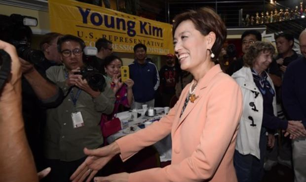 Republican candidate for Congress Young Kim(Yonhap)