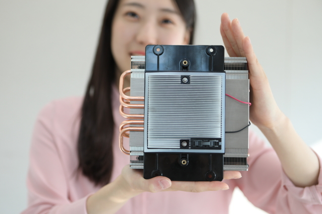 LG Innotek's thermoelectric modules (LG Innotek)