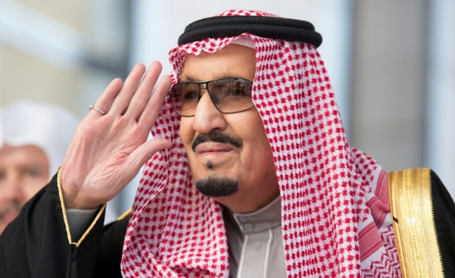 Saudi King Salman said the kingdom was proud of the efforts of the judiciary (AFP)