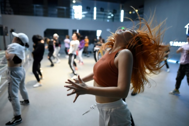 Many dancers see the style as a hip form of exercise or even an alternative way of living (AFP)