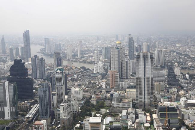 An aerial view of Bangkok, Thailand (EPA-Yonhap)