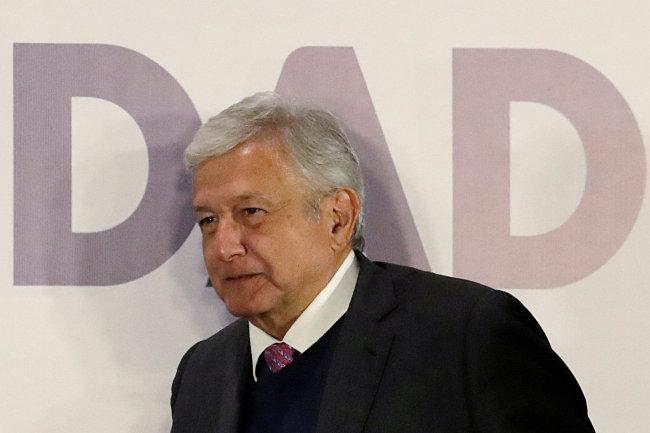 Mexican President-elect Andres Manuel Lopez Obrador (Reuters)