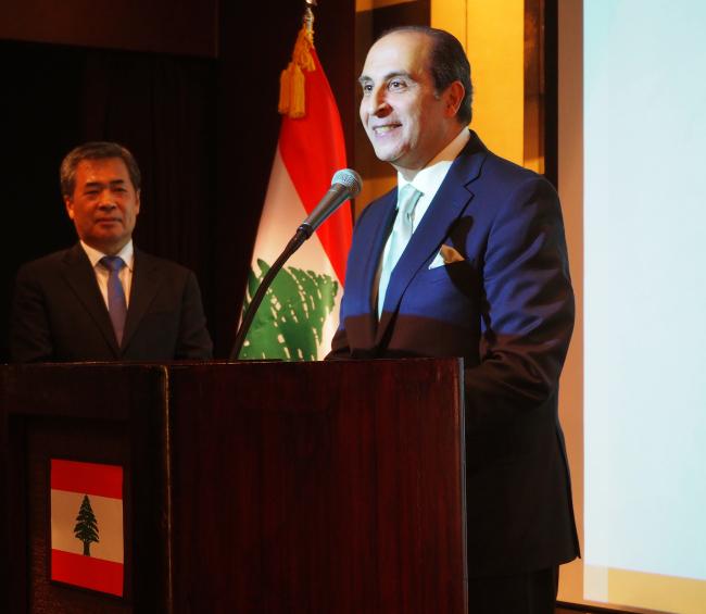 Lebanese Ambassador to Korea Antoine Azzam (Joel Lee / The Korea Herald)