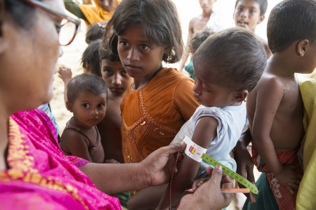 Bangladesh's Rohingya refugees receive support from Concern Worldwide. (Concern Worldwide)