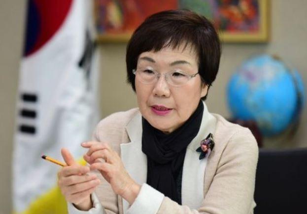 Lee Mi-kyung, president of the Korea International Cooperation Agency