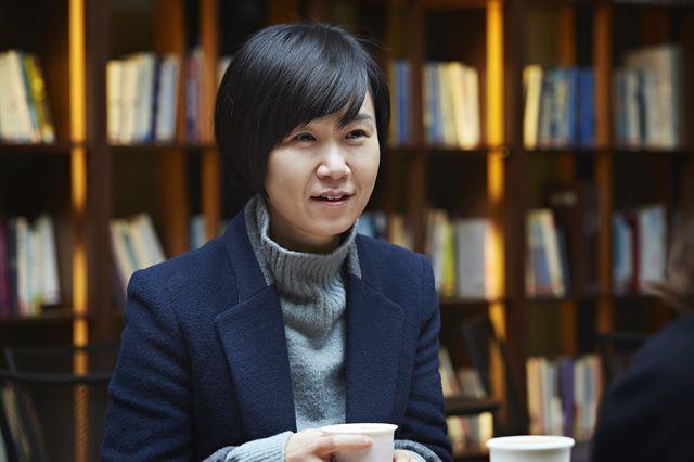 Writer Cho Nam-joo (Minumsa)