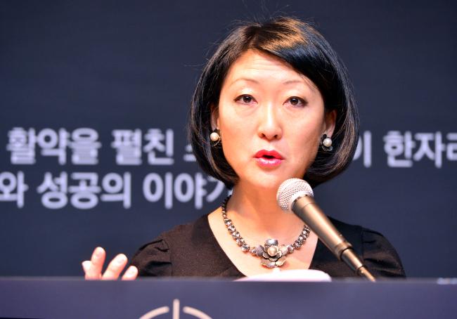 Fleur Pellerin, co-founder and managing partner of Korelya Capital. (Park Hyun-koo/The Korea Herald)