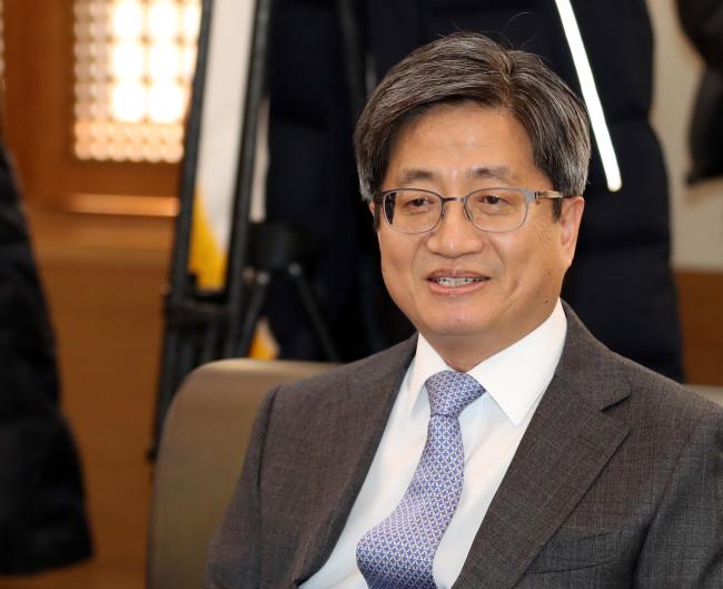 Supreme Court Chief Justice Kim Myeong-su (Yonhap)