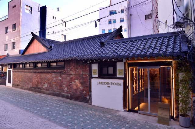 J.Hidden House is situated in the Dongdaemun area of central Seoul. (By Park Hyun-koo / The Korea Herald)