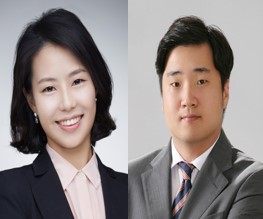 Seol Ji-hye(left) and Kim Do-kyeom
