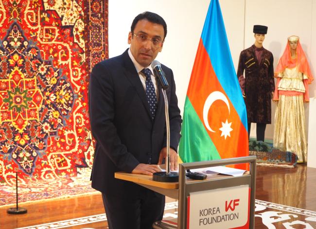 Azerbaijani Ambassador Ramzi Teymurov (Joel Lee / The Korea Herald)