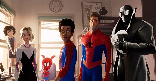 "caption: ""Spider-Man: Into the Spider-Verse"" (Sony Pictures Korea)"