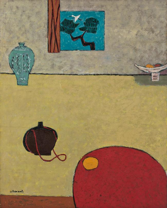 "Kim Whan-ki's ""Indoor"" (Seoul Auction)"