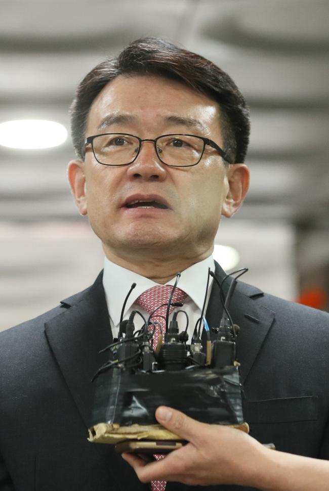 Former chief of the Defense Security CommandLee Jae-su (Yonhap)
