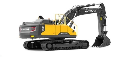 An excavator made by Volvo Group (Yonhap)