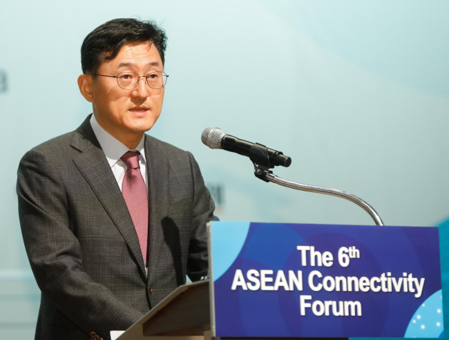 Korean Deputy Minister for Political Affairs Yoon Soon-gu (AKC)