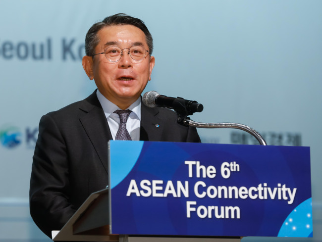 Korea Chamber of Commerce and Industry Executive Vice Chairman Kim Jun-dong (AKC)