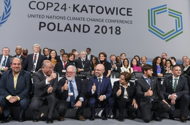 Representatives of nearly 200 nations have been holding talks at the UN`s COP24 summit in the Polish mining city of Katowice (AFP)
