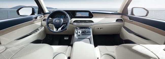 Interior of the Palisade (Hyundai Motor)