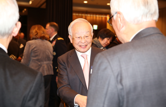 Chairman of KAFS and CJ Group Sohn Kyung-shik (KAFS)