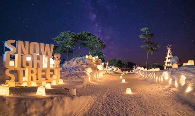 Vivaldi Park Resort's Snowy Land. (Daemyung)