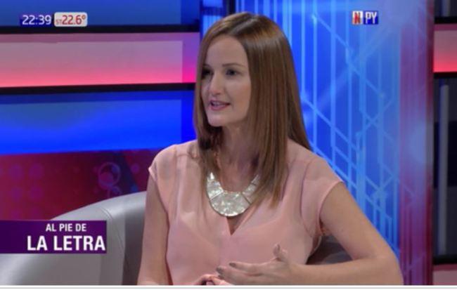 Paraguayan Minister of Housing and Habitat Soledad Nunez (Paraguay.com)