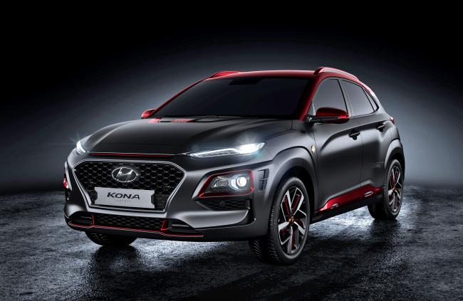 The exterior of Hyundai Motor's Kona Iron Man edition (Hyundai Motor)