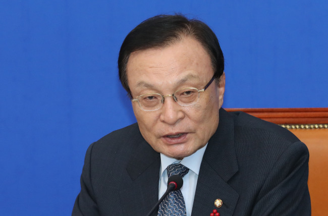 Democratic Party leader Lee Hae-chan (Yonhap)