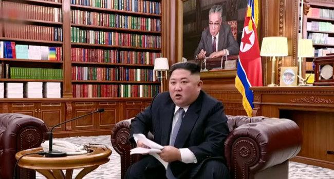 Kim Jong-un. Korean Central Television