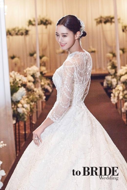 (to Bride)